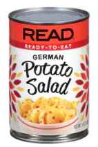 can of german potato salad